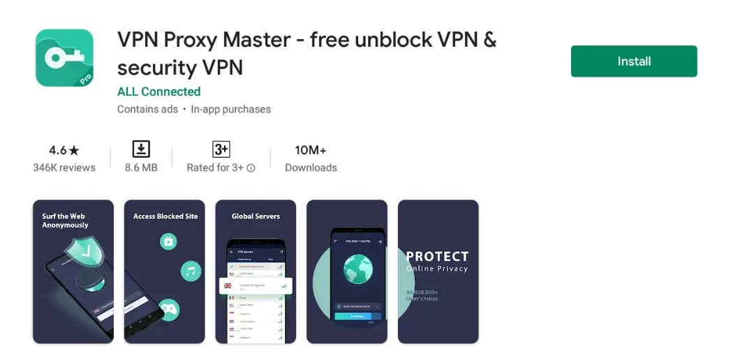 VPN Proxy Master for For Mac