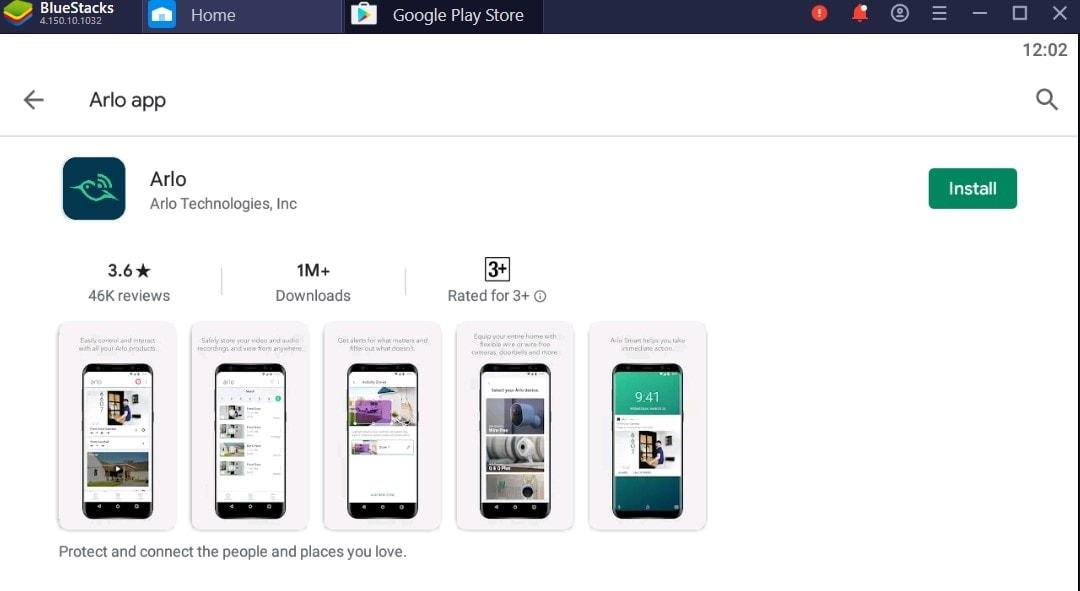 Arlo app For Mac