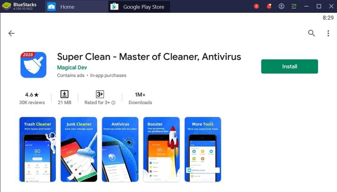Cleaning Master For Windows