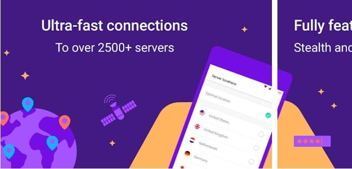 Hexatech VPN for Windows