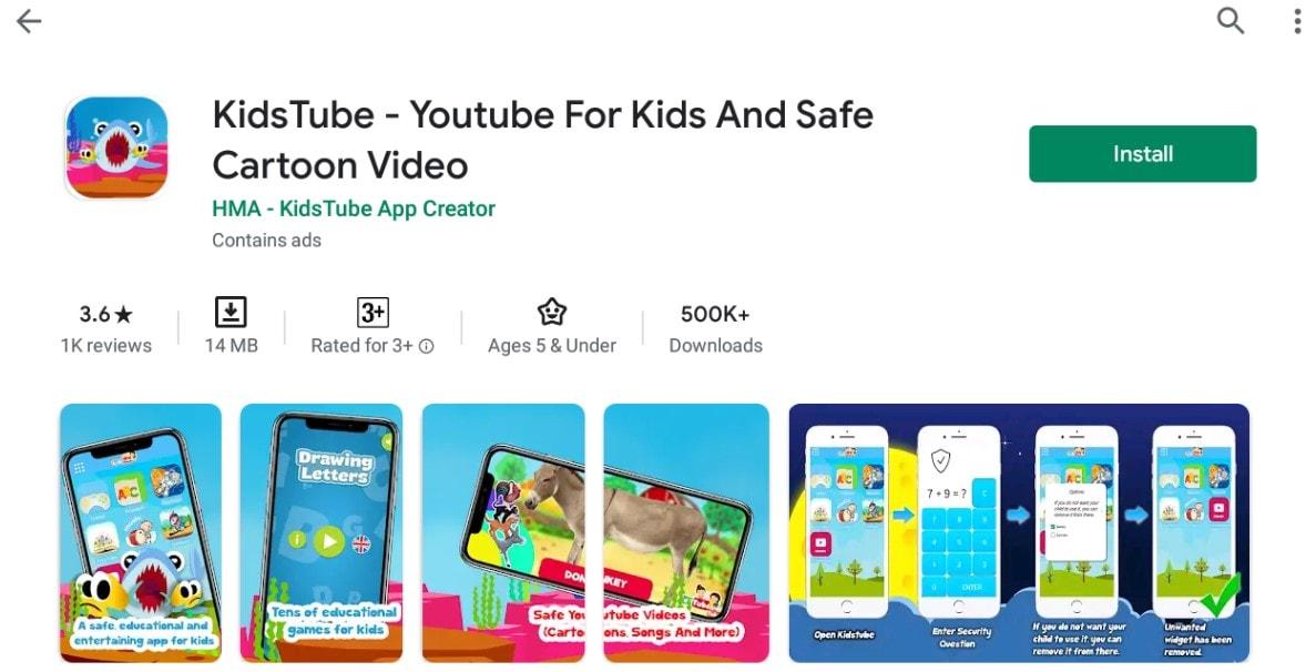 YouTube kids For Mac