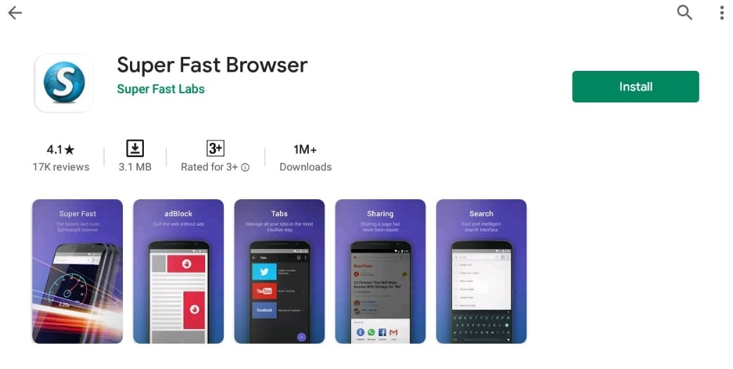 Fast browser for Mac