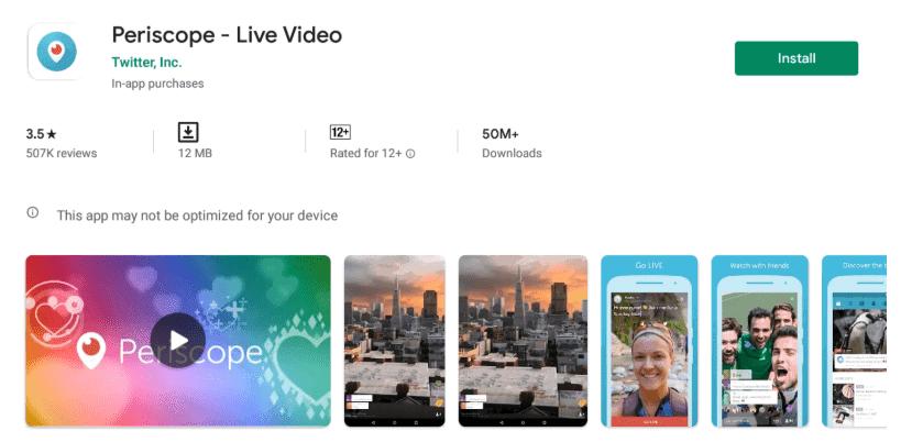 Periscope App For PC