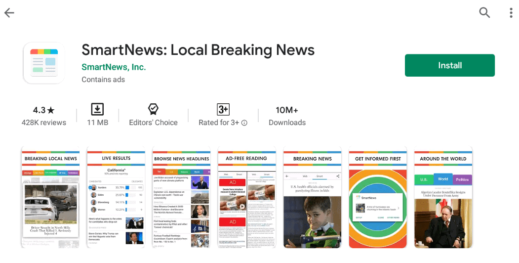 SmartNews app for Mac