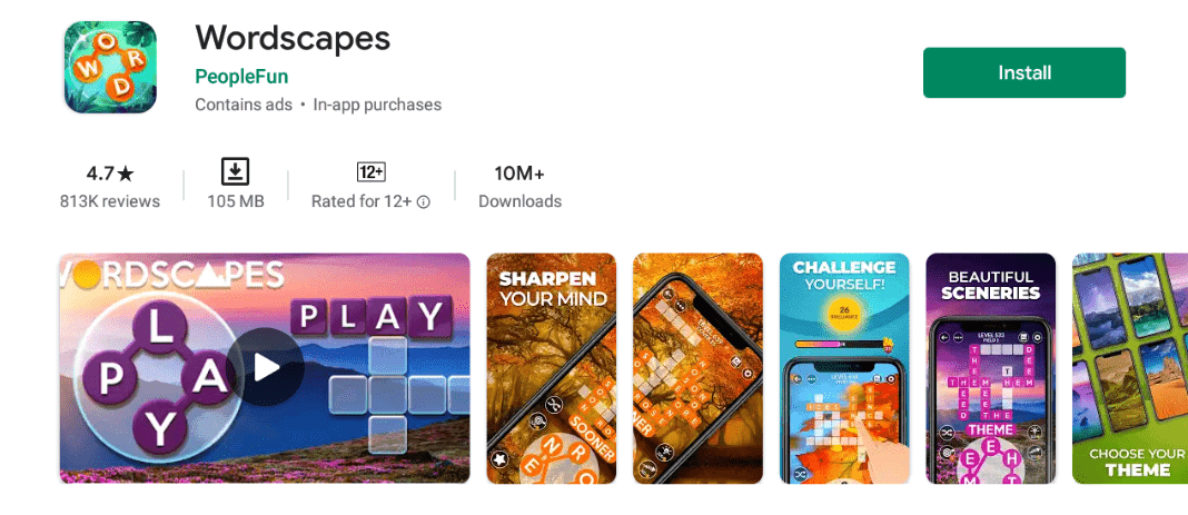 Wordscapes For Mac