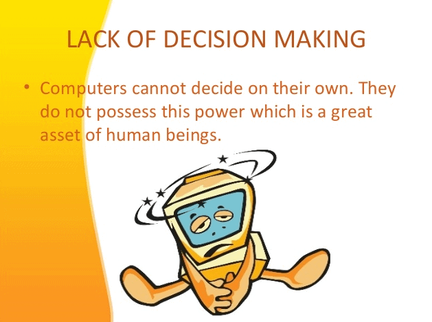 Unable to Take Part in Decision-making